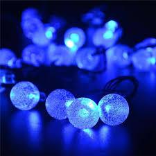 solar panel christmas lights 30 led crystal ball solar powered christmas lights 20 ft solar us shop