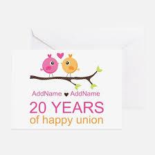20th wedding anniversary 20th wedding anniversary 20th wedding anniversary greeting cards