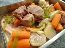 cuisine pot au feu pot au feu palette de porc demi sel la cuisine de nelly