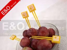 plastic fruit skewers china disposable plastic fruit fruit skewer fruit stick