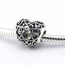 european silver charm bracelet images Fits european silver charm bracelet silver beads august birthstone jpg