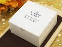 wedding cake boxes only 36 99 for 100 which includes personalization on the box