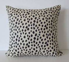 amazon com dodie beige black spot animal print dot print amazon com dodie beige black spot animal print dot print decorative pillow cover ballard design handmade