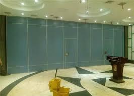 Soundproof Interior Door Movable Sliding Interior Door Sound Proof Folding Wall In