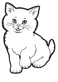 coloriage chaton 1 sur hugolescargot com