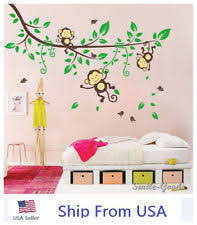 Jungle Wall Decal For Nursery Jungle Wall Decals Ebay