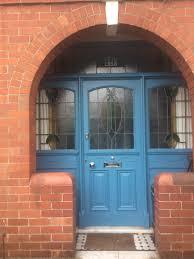 little greene air force blue on our front door voordeur