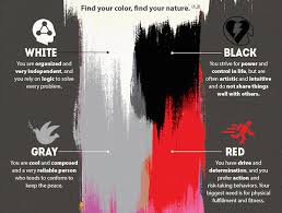 what does your favorite color say about you infographic what your favorite color says about you designtaxi com