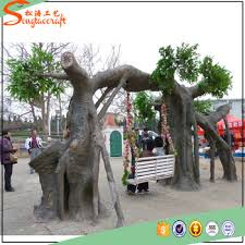 sell unique artificial big trees decorative metal trees size