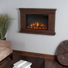Real Fire Fireplace by Real Flame Jackson 38 In Wall Mount Slim Line Electric Fireplace
