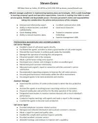 Call Center Job Description For Resume by Best Resume Of A Call Center Agent Images Simple Resume Office