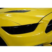 mustang headlight covers gts mustang smoked headlight covers 15 17 0994s lmr
