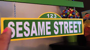 sesame street diy party decor youtube