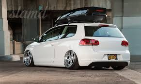 volkswagen golf custom love of the veedub bernie chacon u0027s mk6 u2013 slam u0027d mag