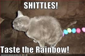 Taste The Rainbow Meme - tles taste the rainbow