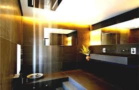 modern custom master bathroom oval porcelain right facing wall