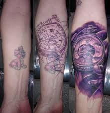Mens Tattoo Cover Up Ideas Cover Up Step By Step Bl Design Tattoo Studio Flickr
