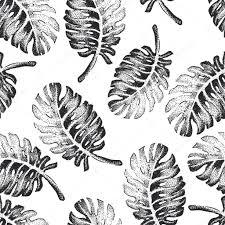 palm tree sketch pattern u2014 stock vector katyr 105107976