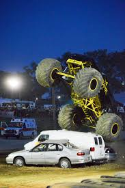 monster trucks shows monster truck show packs grandstands at dayton fair news