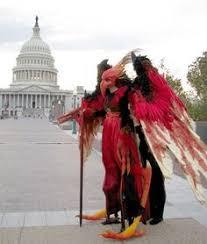 Stilt Costumes Halloween Strange Happen Crickets Thought Americans