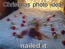 fail baby christmas photo pinterest fail