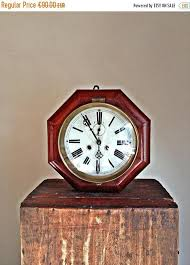 on sale mechanical wooden wall clock antique wall clock clocks