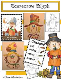 scarecrow activities adorable scarecrow glyph glyphs are a quick