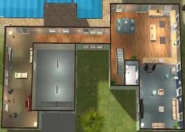 modern cabin floor plans homey ideas 11 contemporary open concept house plans modern cabin