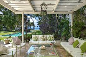House Patio Nelson House Barbados Villa Rental Wheretostay