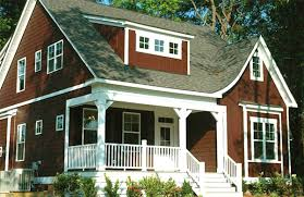 small home plan with 3 seasons porch 30027rt architectural
