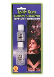 anonymous mask spirit halloween spirit gum adhesive with remover