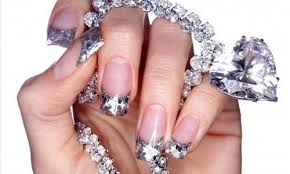 nail art design for white skin my bling nails photo bling