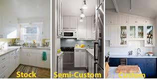 semi custom kitchen cabinets how to decide between using custom semi custom or stock