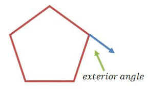 What Is Interior And Exterior Angles What Is A Polygon Definition Shapes U0026 Angles U0026 Lesson