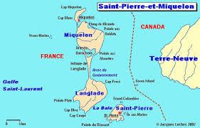 map of st and miquelon recollections of a vagabonde destination st et miquelon