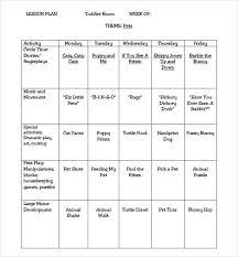 sample elementary lesson plan template printable lesson plan