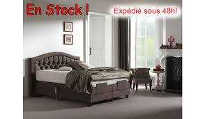 Chambre Lin Et Taupe by Boxspring Versailles Electrique 2x90x200 Lin Taupe