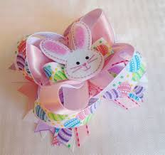 easter hair bows 15 easter hair accessories bows for kids 2015