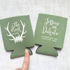 wedding koozie wedding koozies archives fall for design