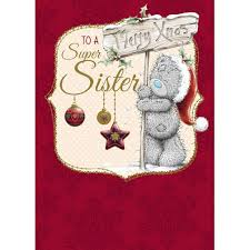 sister me to you bear christmas card 1 79 teddy pinterest