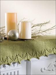 mantel scarf free christmas knitting patterns lacework mantel scarf