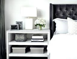 Bedside Table Decor Ideas Side Bedroom Unique Living Room