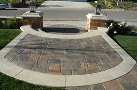 Front Patio Designs by Innovative Front Yard Pavers Patio And Walkway Ideas Front Yard