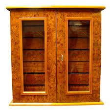 thomas cristiano humidor cabinet mahogany single