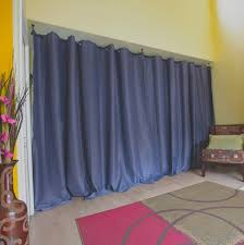 Curtains To Divide Room Roomdividersnow Hanging Room Divider Kits For Spaces Up To