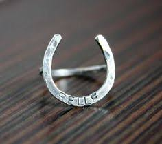 lucky horseshoe gifts golden lucky horseshoe l shaped nose ring lucky horseshoe