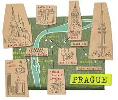 Map Of Czech Republic I Draw Maps Map Illustration For Prague Czech Republic