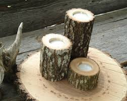 tree branch candle holder set of 24 tree branch candle holders wood candle holders
