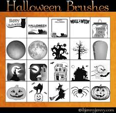 free halloween photoshop brushes by ibjennyjenny on deviantart
