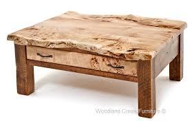 Coffee Table Wood Endearing Burl Wood Coffee Table Barn Wood Coffee Table With Burl